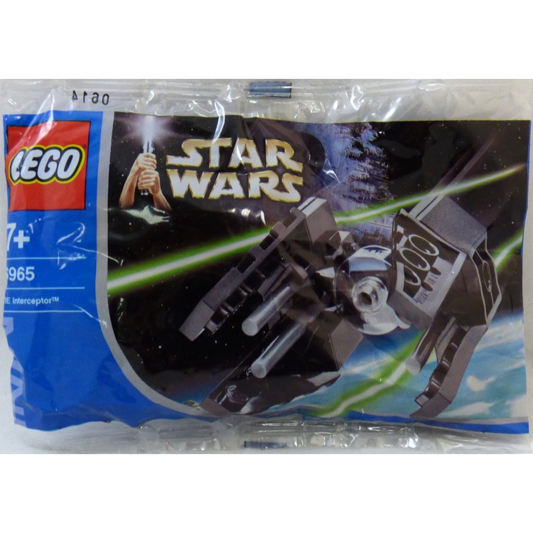 LEGO Star Wars Sets: Mini 6965 TIE Interceptor NEW