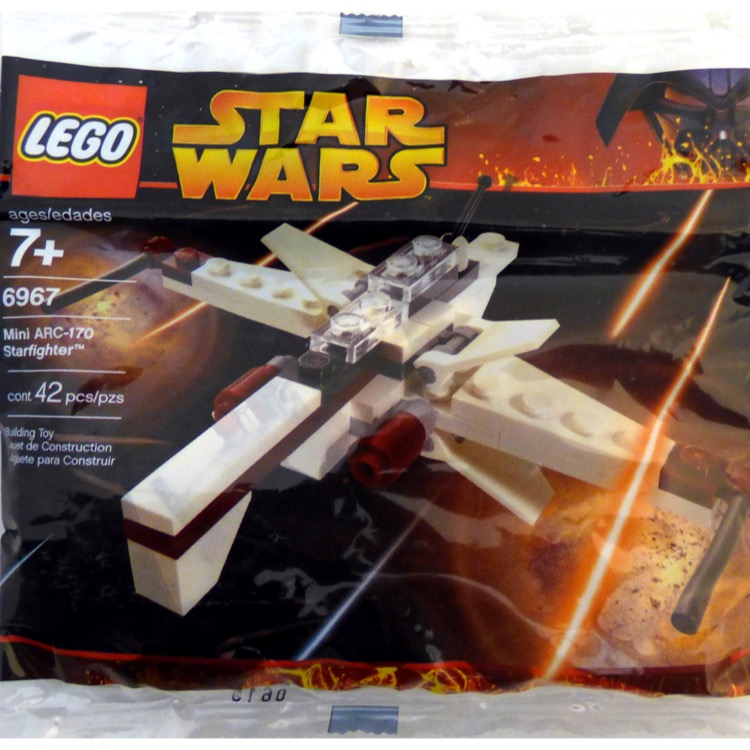 LEGO Star Wars Sets: Mini 6967 ARC-170 Starfighter NEW