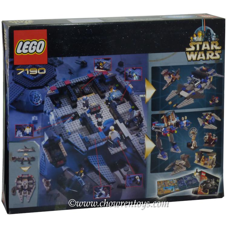 LEGO Star Wars Sets: Classic 7190 Millennium Falcon NEW