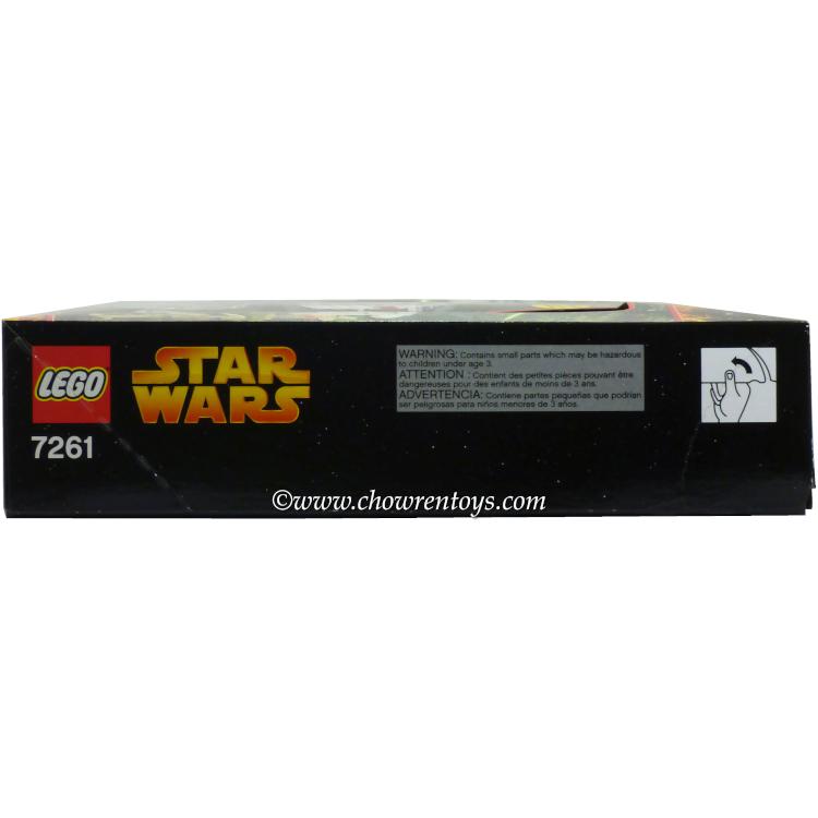 LEGO Star Wars Sets: Episode III 7261 Clone Turbo Tank (w/ Light ...