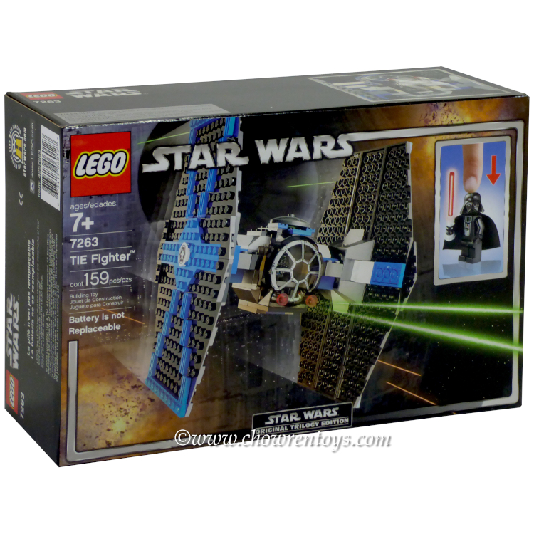 Lego Star Wars Sets Classic 7263 Tie Fighter New