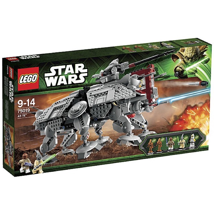 LEGO Star Wars Sets: Episode II 75019 AT-TE NEW