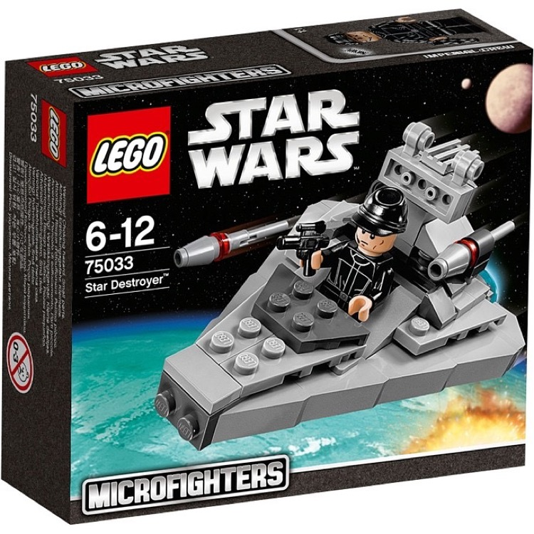 LEGO Star Wars Sets: Microfighters 75033 Star Destroyer NEW