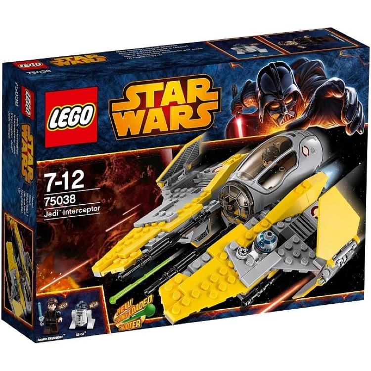 LEGO Star Wars Sets: Episode III 75038 Jedi Interceptor NEW