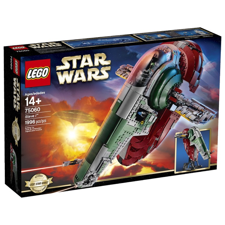 LEGO Star Wars Sets: Ultimate Collector Series 75060 Slave I NEW *Damaged Box*