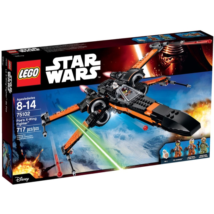 LEGO Star Wars Sets: 75102 Poe's X-Wing Fighter NEW