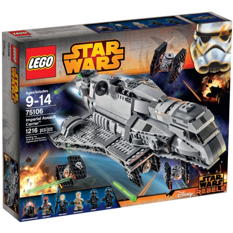 LEGO Star Wars Sets: 75106 Imperial Assault Carrier NEW