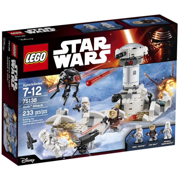 LEGO Star Wars Sets: 75138 Hoth Attack NEW