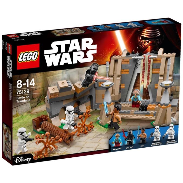 LEGO Star Wars Sets 75139 Battle On Takodana NEW