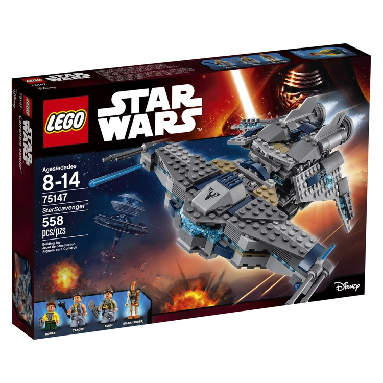LEGO Star Wars Sets: 75147 Star Scavenger NEW