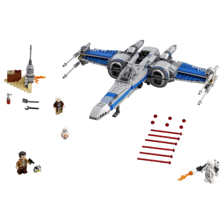 Lego Star Wars X Wing Starfighter: LEGO Star Wars Sets: 75149 Resistance X-wing Fighter NEW