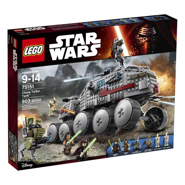 LEGO Star Wars Sets: 75151 Clone Turbo Tank NEW