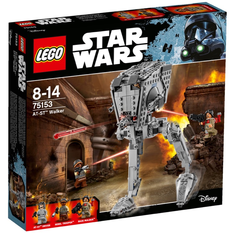 LEGO Star Wars Sets: 75153 AT-ST Walker NEW