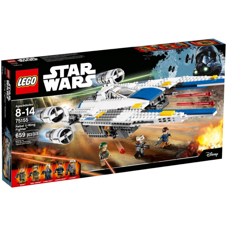 LEGO Star Wars Sets: 75155 Rebel U Wing Fighter NEW