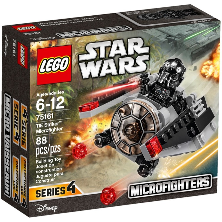 LEGO Star Wars Sets: 75161 TIE Striker NEW