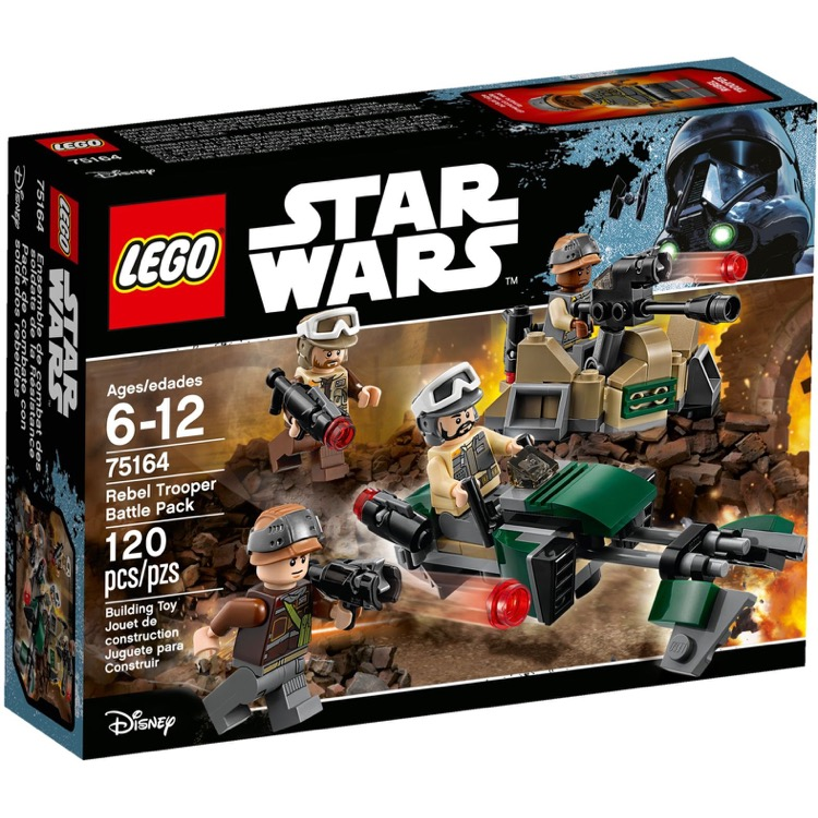 LEGO Star Wars Sets: 75164 Rebel Trooper Battle Pack NEW