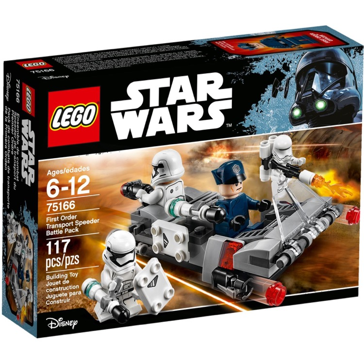 LEGO Star Wars Sets: 75166 First Order Transport Speeder Battle Pack NEW