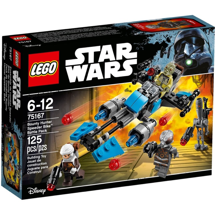 LEGO Star Wars Sets: 75167 Bounty Hunter Speeder Bike Battle Pack NEW