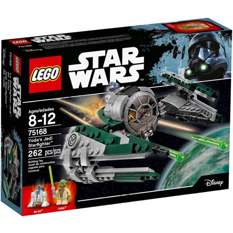 LEGO Star Wars Sets: 75168 Yoda's Jedi Starfighter NEW