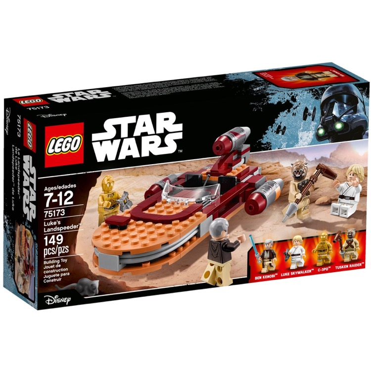 LEGO Star Wars Sets: 75173 Luke's Landspeeder NEW