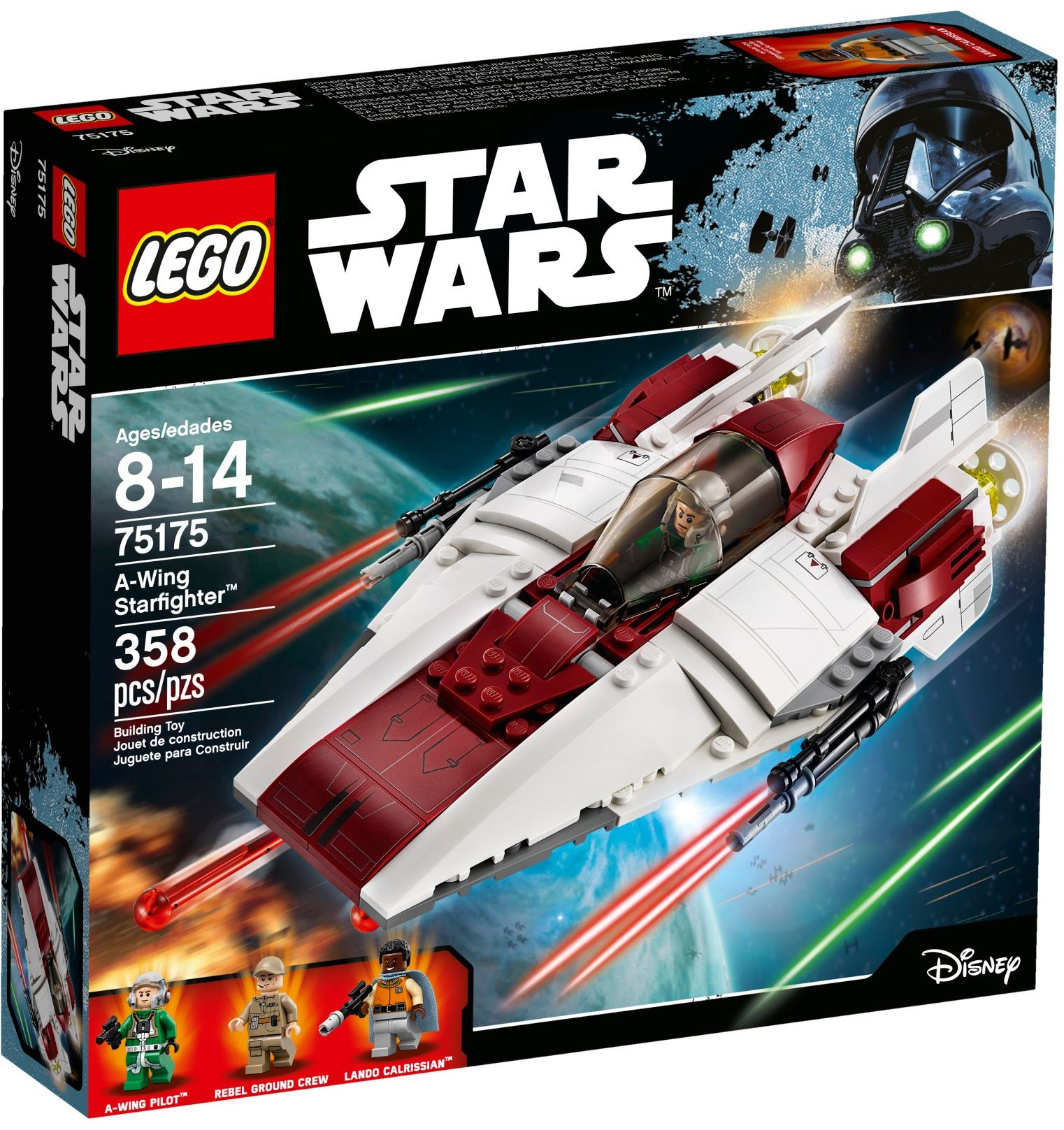 LEGO Star Wars Sets: 75175 A-Wing Starfighter NEW