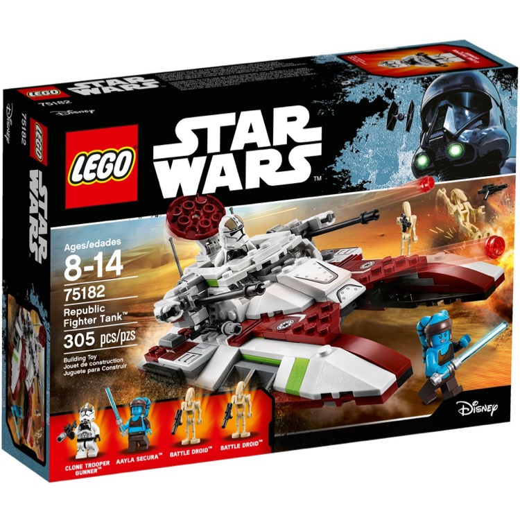 LEGO Star Wars Sets: 75182 Republic Fighter Tank NEW