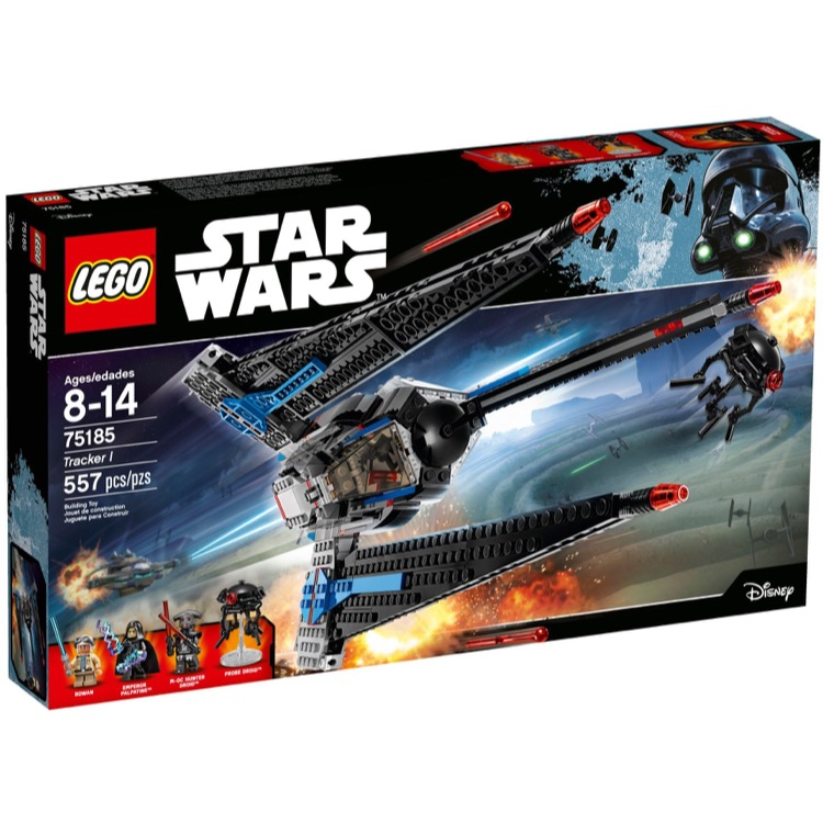 LEGO Star Wars Sets: 75185 Tracker I NEW