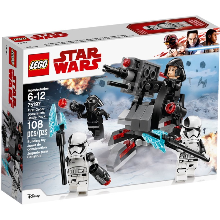 LEGO Star Wars Sets: 75197 First Order Specialists Battle Pack NEW