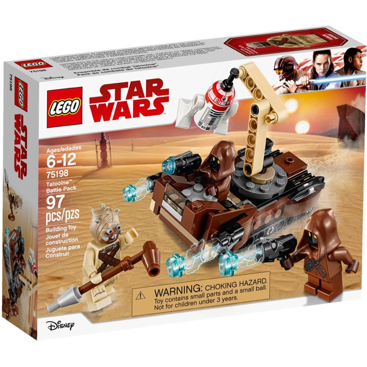 LEGO Star Wars Sets: 75198 Tatooine Battle Pack NEW