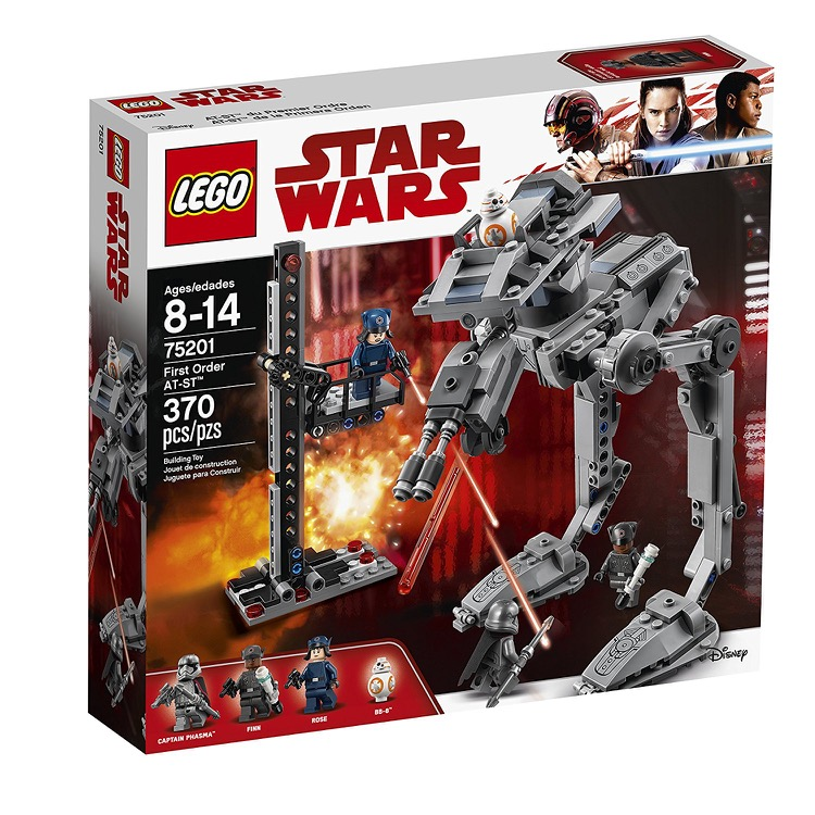 LEGO Star Wars Sets: 75201 First Order AT-ST NEW