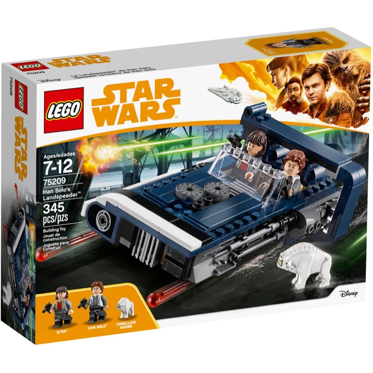 LEGO Star Wars Sets: 75209 Han Solo's Landspeeder NEW