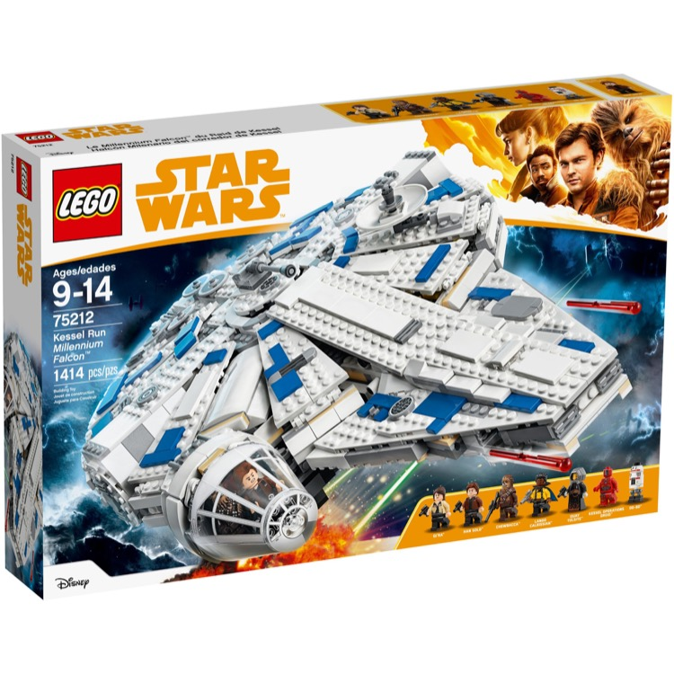 LEGO Star Wars Sets: 75212 Kessel Run Millennium Falcon NEW