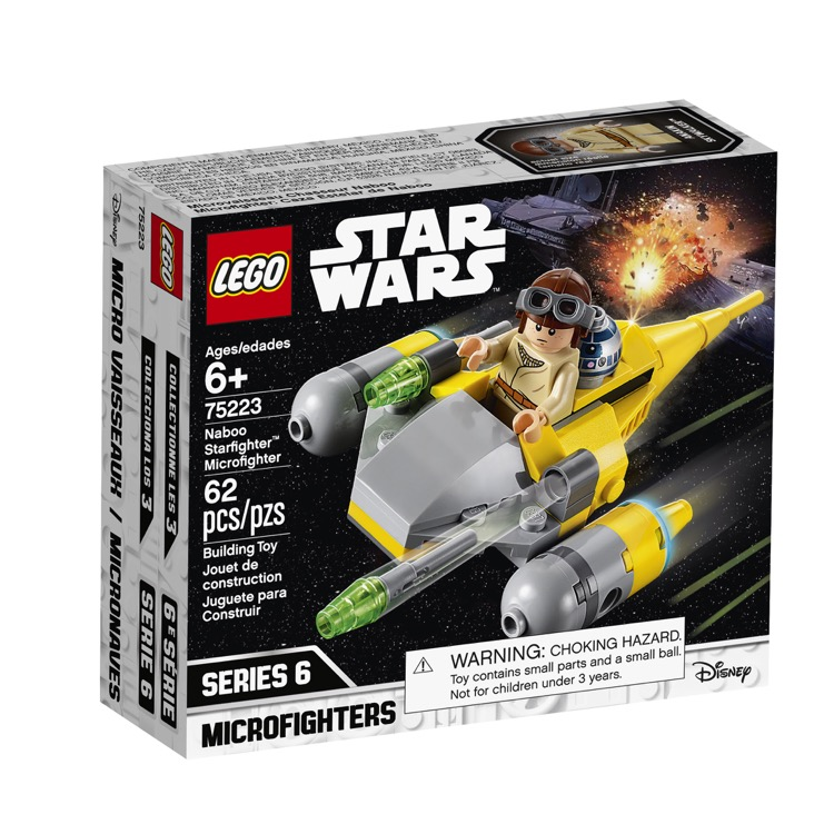 LEGO Star Wars Sets: 75223 Naboo Starfighter Microfighter NEW