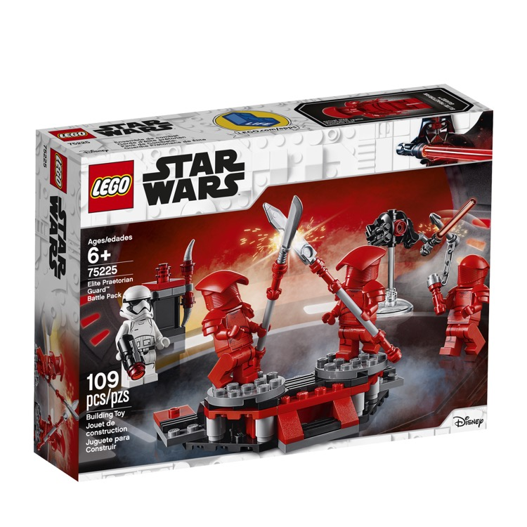 LEGO Star Wars Sets: 75225 Elite Praetorian Guard Battle Pack NEW