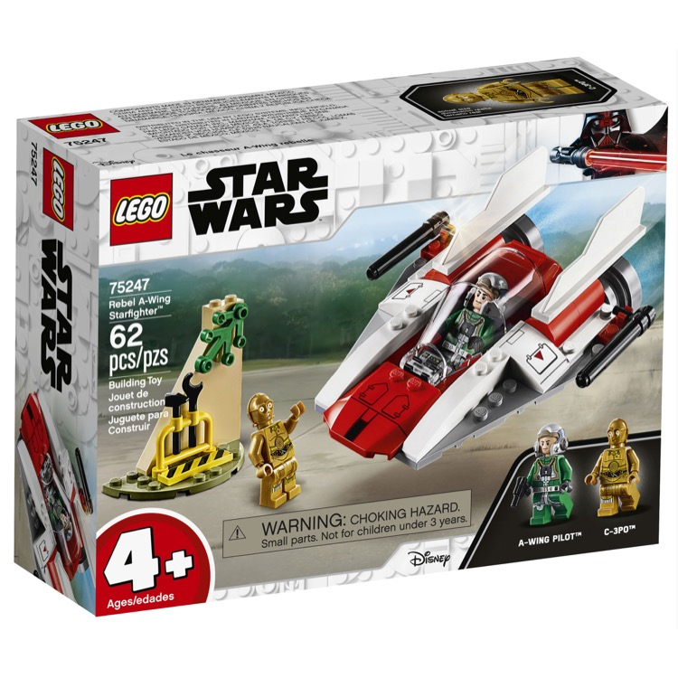 LEGO Star Wars Sets: 75247 Rebel A-wing Starfighter NEW