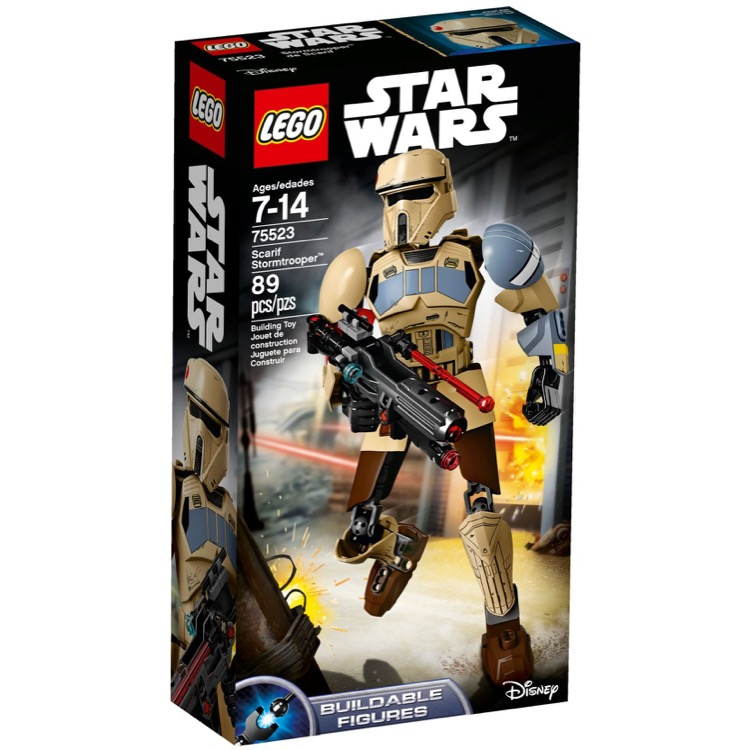 LEGO Star Wars Sets: 75523 Scarif Stormtrooper NEW