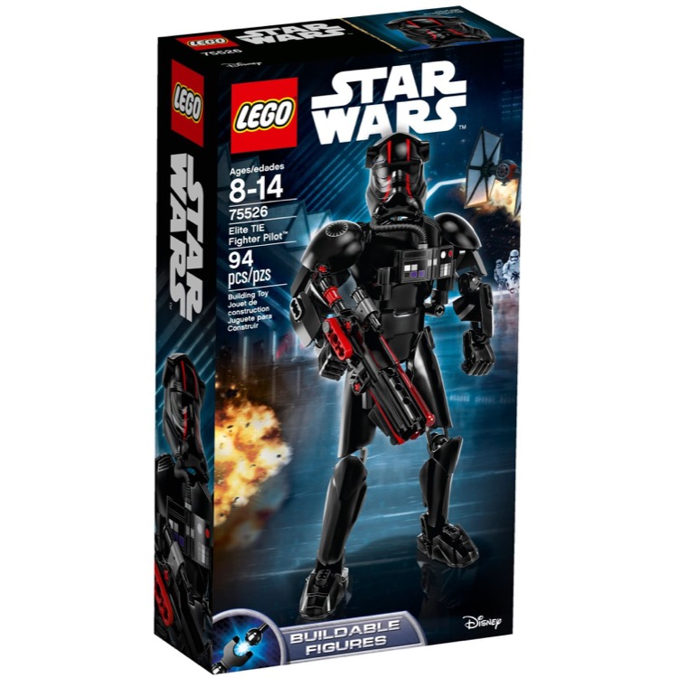 LEGO Star Wars Sets: 75526 Elite TIE Fighter Pilot NEW