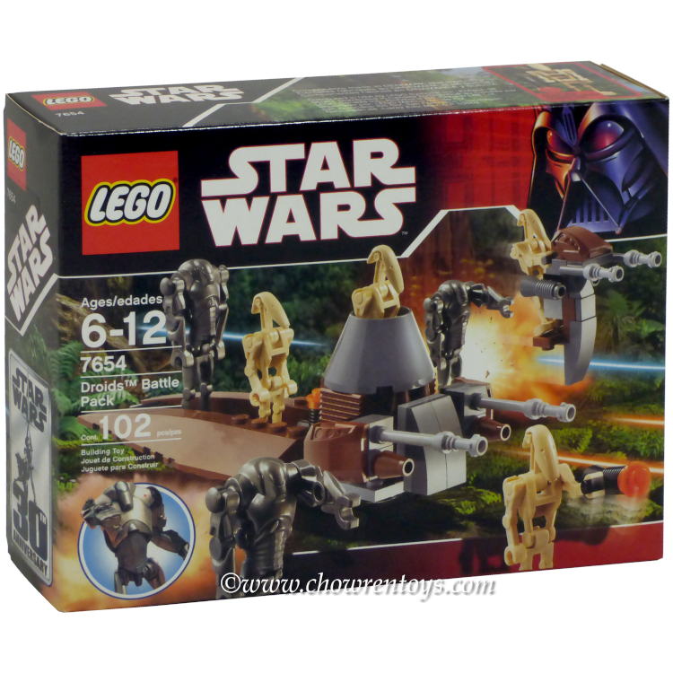 LEGO Star Wars Sets: Episode III 7654 Droids Battle Pack NEW