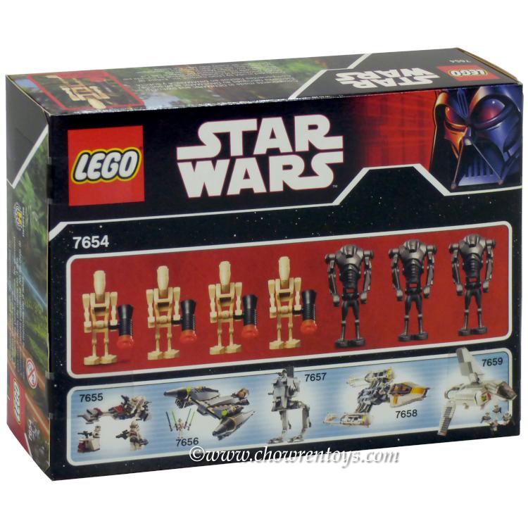 LEGO Star Wars Sets Episode III 7654 Droids Battle Pack NEW