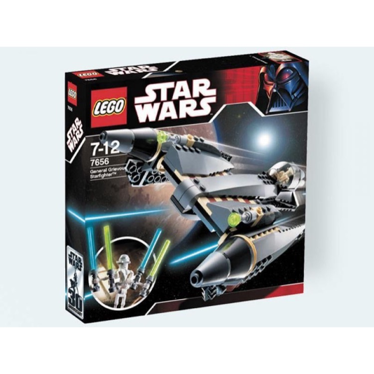 LEGO Star Wars Sets: Episode III 7656 General Grievous Starfighter NEW