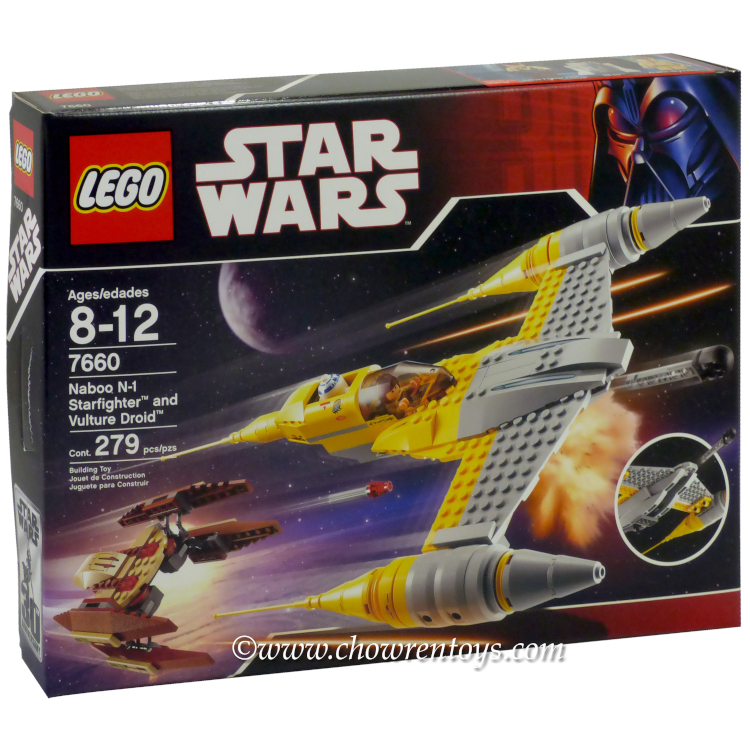 LEGO Star Wars Sets: Episode I 7660 Naboo N-1 Starfighter and ...