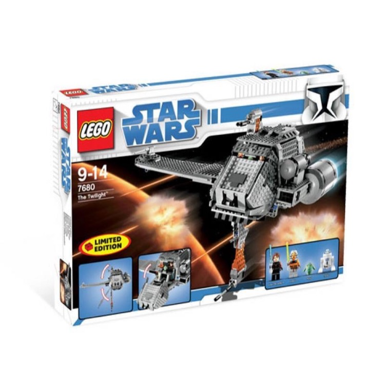 LEGO Star Wars Sets: Clone Wars 7680 The Twilight NEW