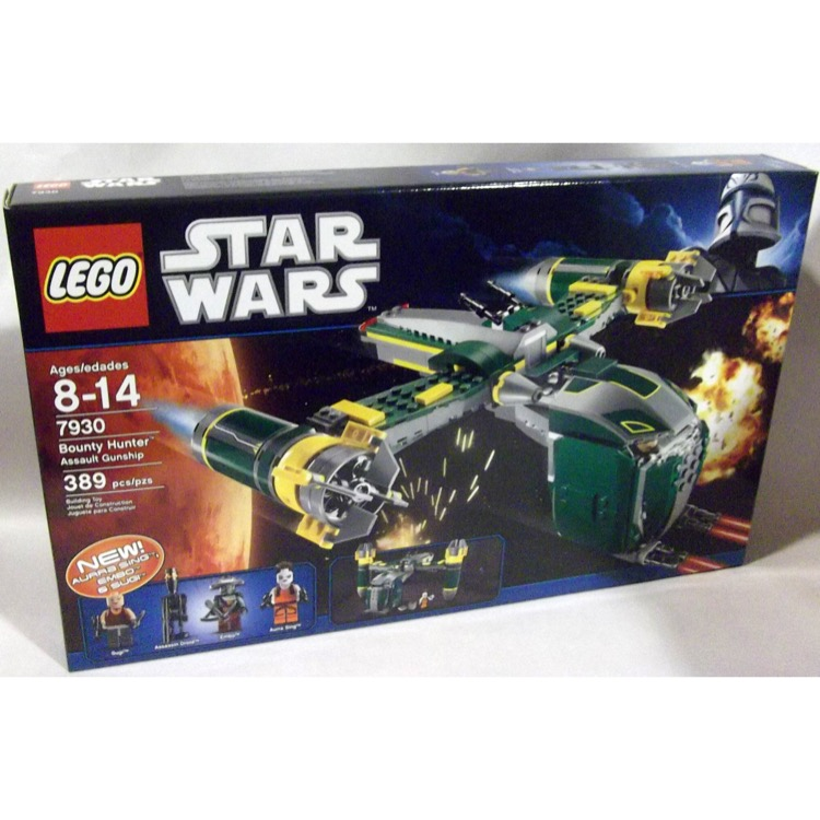 LEGO Star Wars Sets: Clone Wars 7930 Bounty Hunter Assault Gunship NEW