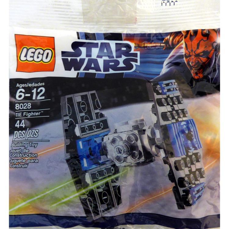 LEGO Star Wars Sets: Mini 8028 TIE Fighter NEW
