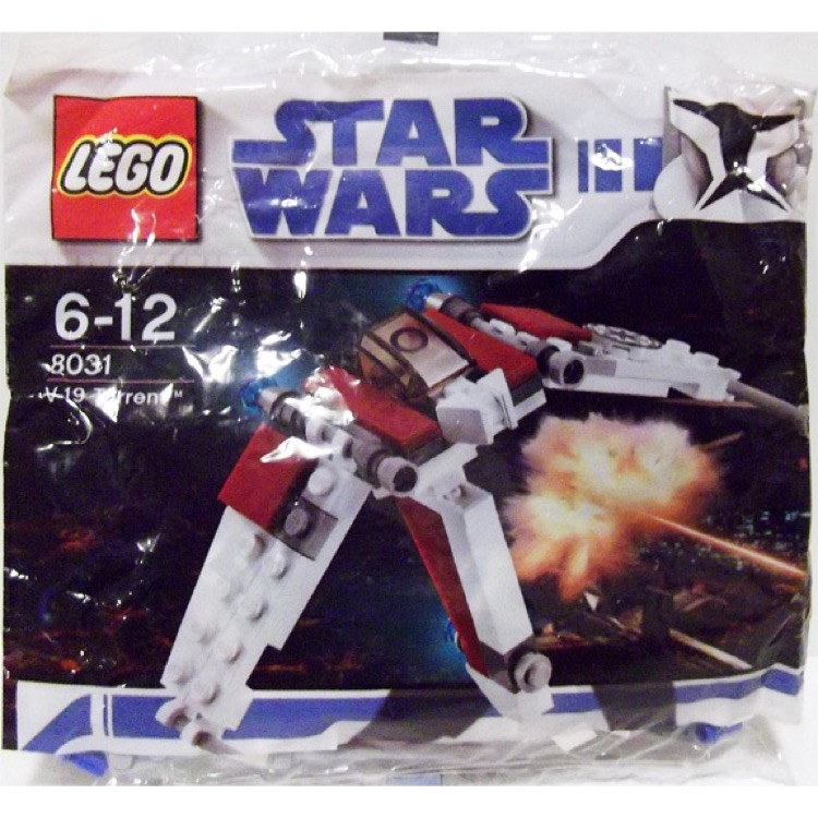 LEGO Star Wars Sets: Mini 8031 V-19 Torrent NEW