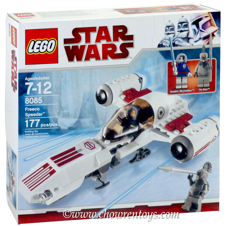 LEGO Star Wars Sets: Clone Wars 8085 Freeco Speeder NEW