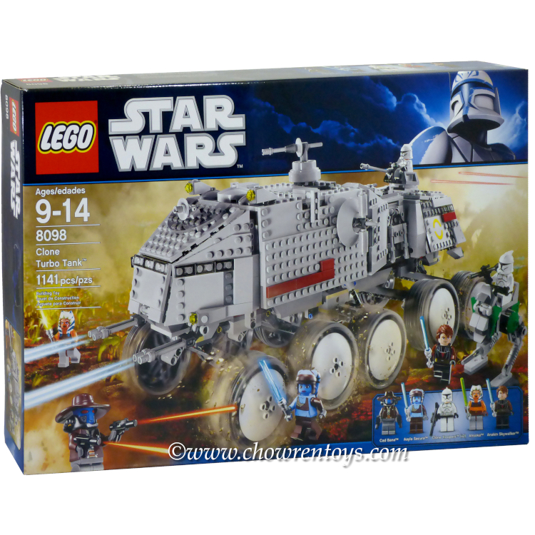 LEGO Star Wars Sets: Clone Wars 8098 Clone Turbo Tank NEW