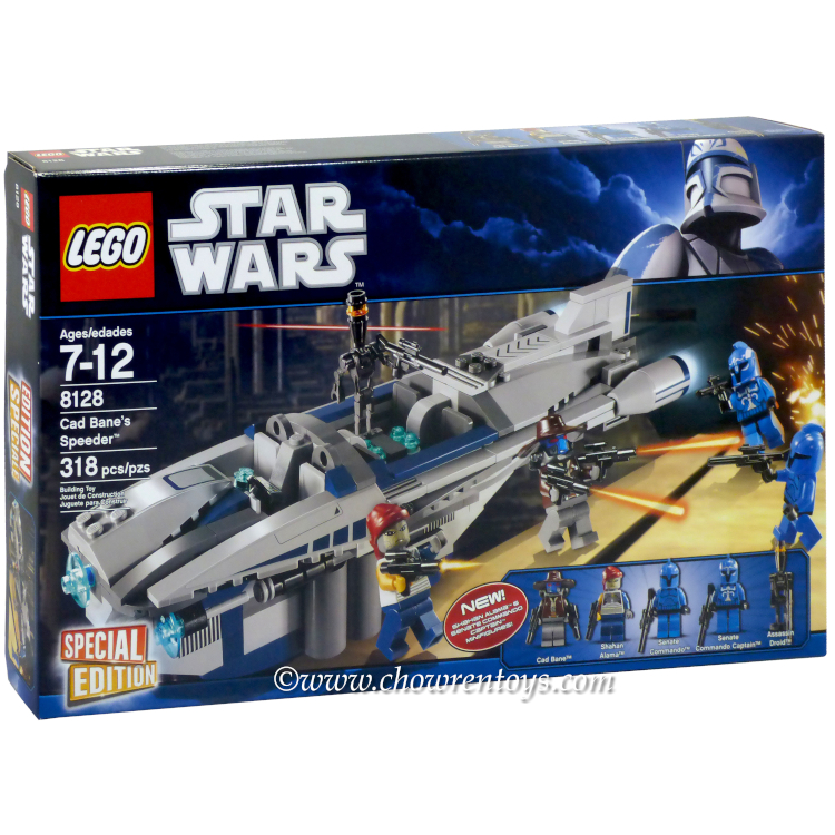 LEGO Star Wars Sets: Clone Wars 8128 Cad Bane's Speeder NEW