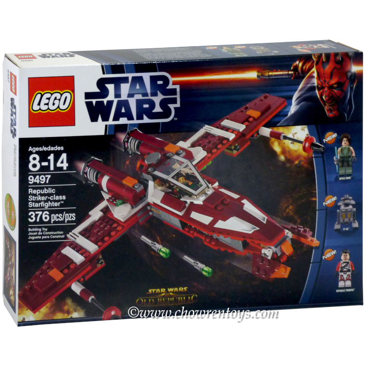 LEGO Star Wars Sets: The Old Republic 9497 Republic Striker-class Starfighter NEW