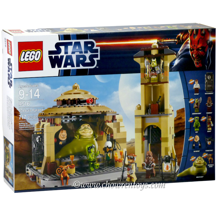 LEGO Star Wars Sets: Episode IV-VI 9516 Jabba's Palace NEW